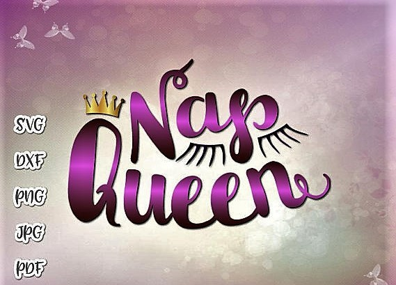Nap Queen Funny Baby Girl Little Napper Word Sign