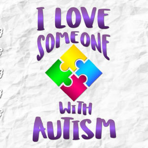 Autism Vector Clipart SVG File for Cricut