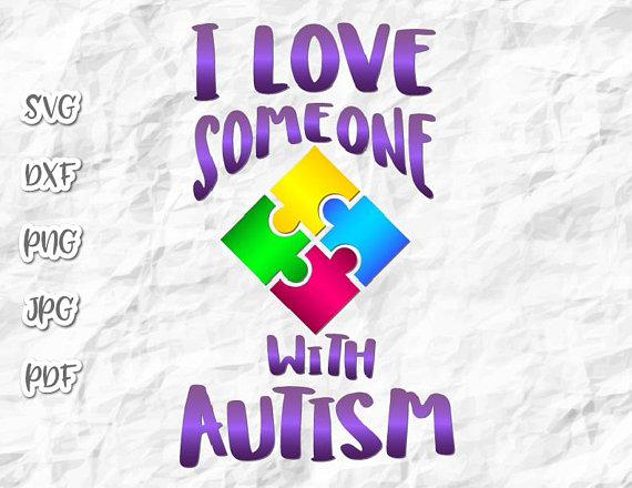 Autism Vector Clipart SVG File for Cricut