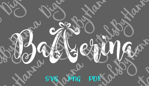 Ballerina SVG Scrapbook Ideas Files for Laser Shirt Applique Ballet6