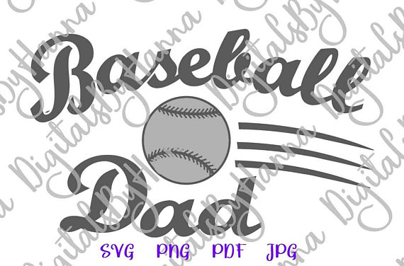 Baseball Dad Cuttable Shirt Decal Heat HTV Cutting