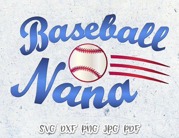 Baseball Nana SVG Files for Cricut