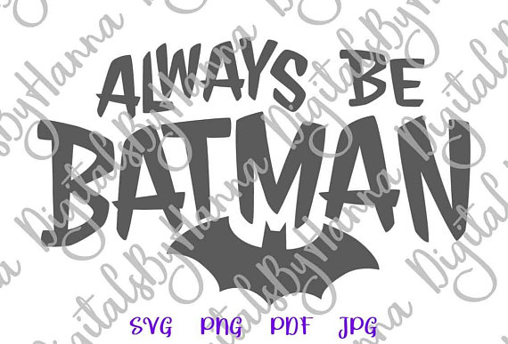 Batman Cuttable Shirt Decal Heat HTV Cutting