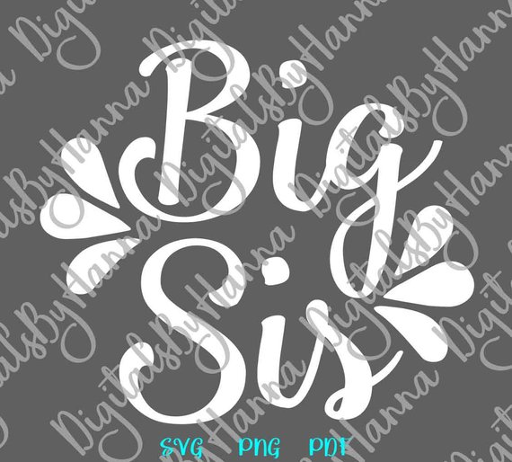 Big Sister Scrapbook Ideas Files for Laser