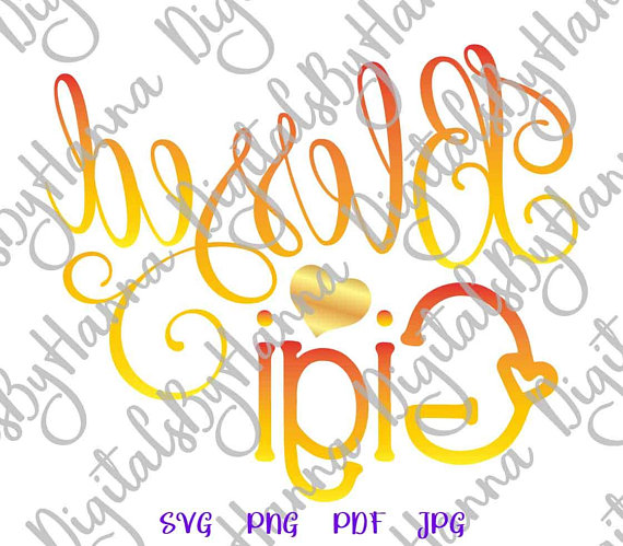 Blessed Gigi Vector Clipart SVG File for Cricut Gift