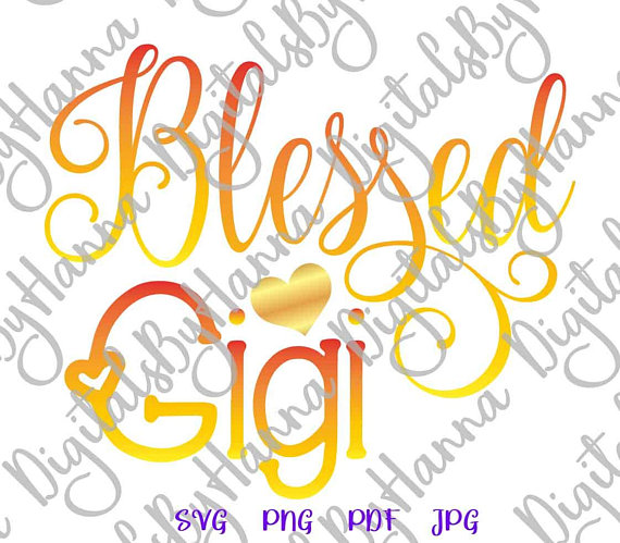 Blessed Gigi Visual Arts Stencil Maker Papercraft
