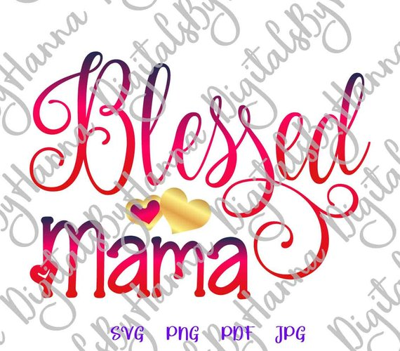 Blessed Mama Visual Arts Stencil Maker Papercraft