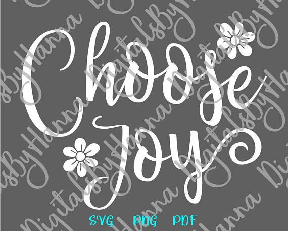 Choose Joy Scrapbook Ideas Files for Laser Shirt