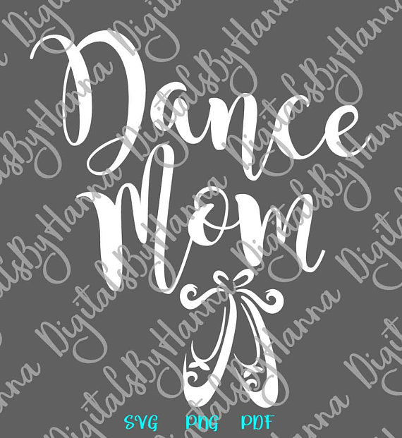 Dance Mom Scrapbook Ideas Files for Laser Shirt Applique Ballet