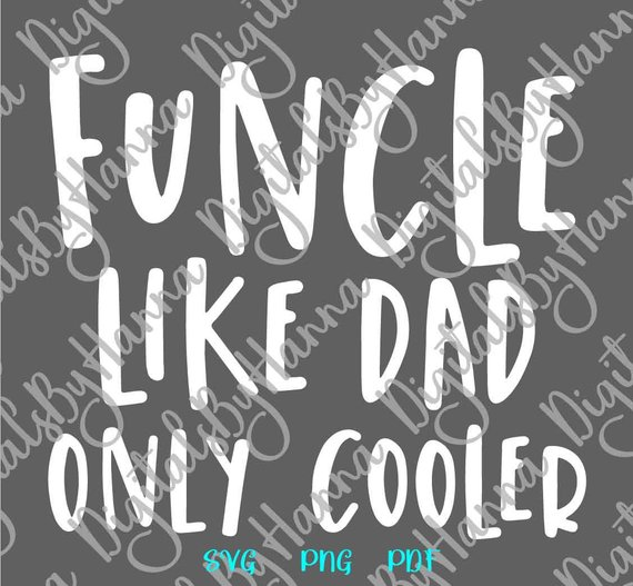 FuUncle Scrapbook Ideas Files for Laser Shirt