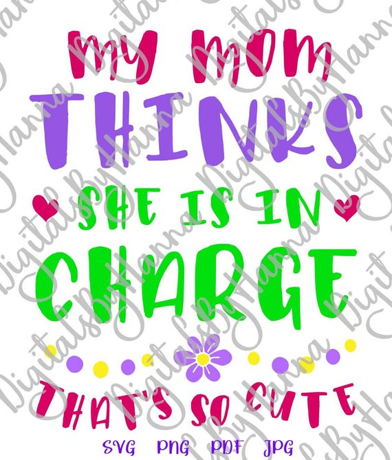 Funny Quote Saying Mommy Outfit Word Sign Stencil Maker