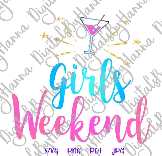 Girls Weekend Visual Arts Stencil Maker Papercraft