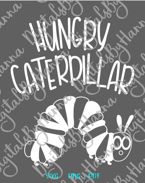 Hungry Catterpillar Scrapbook Ideas Files for Laser Shirt