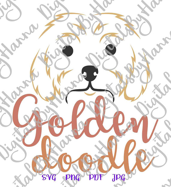 Labradoodle Lover Vector Clipart SVG Files for Cricut