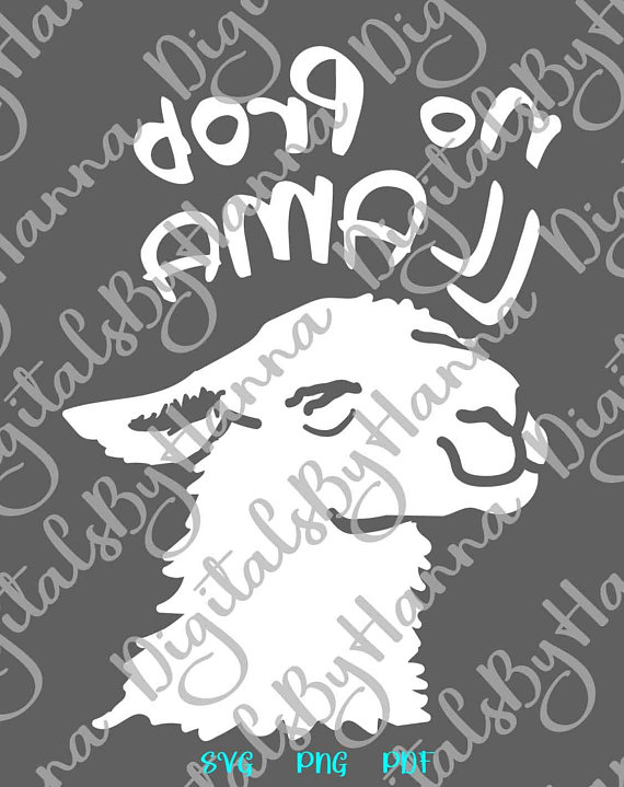 Lama SVG Files for Cricut Scrapbook Ideas Files for Laser Shirt