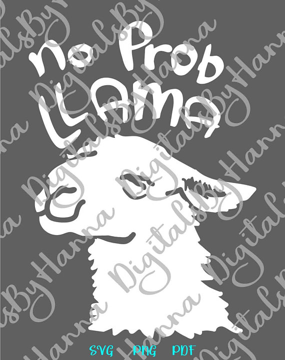 Lama SVG Files for Cricut Visual Arts Stencil Maker Papercraft