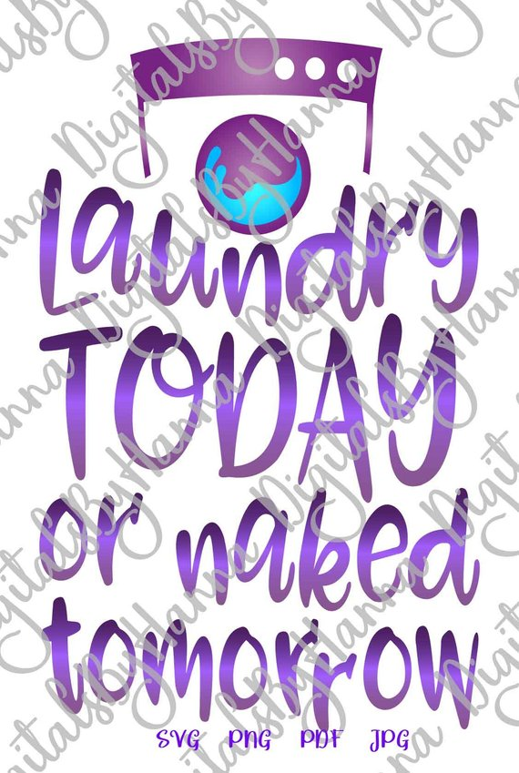 Laundry Room DIY Instant Download Die Cut Iron on Vinyl Card Making