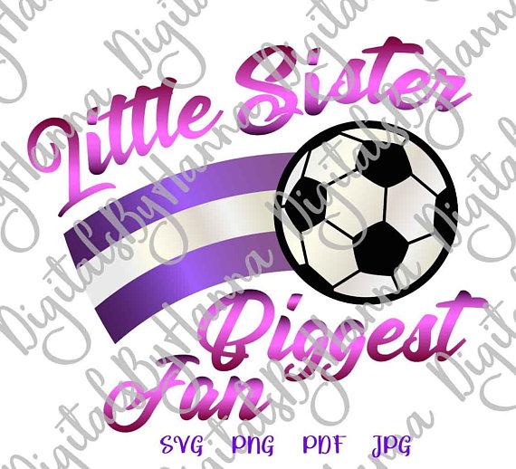 Little Sister Soccer Cutter Visual Arts Stencil Maker Papercraft