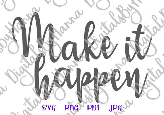 Make it Happen Cutter Visual Arts Stencil Maker