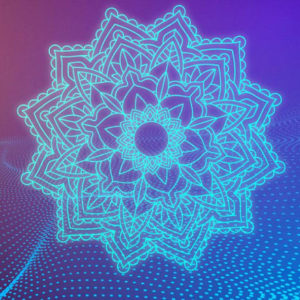 Mandala Neon Light SVG Files for Cricut