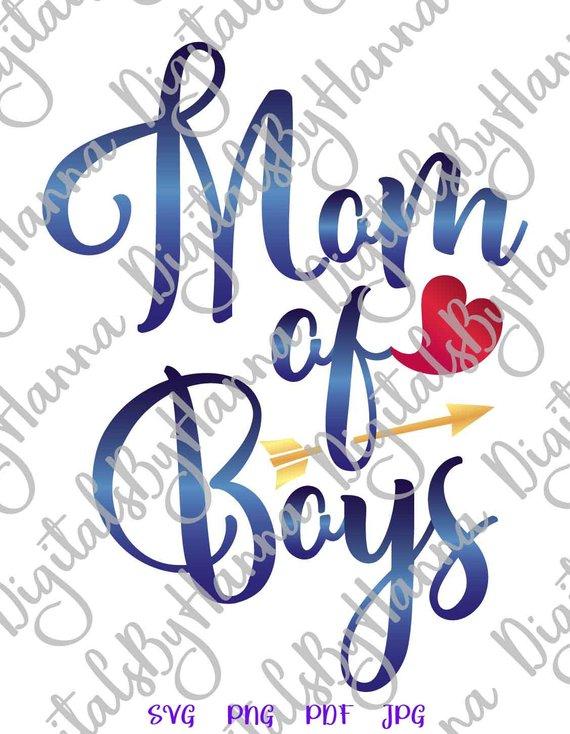 Mom of Boys Visual Arts Stencil Maker Papercraft