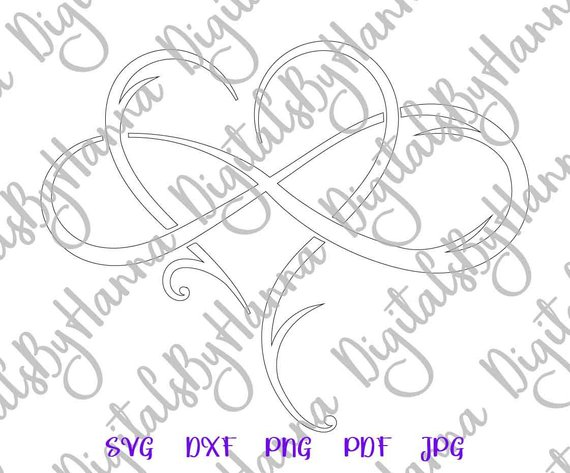 Mother and Daughter Silhouette DXF Digital Clipart Gift