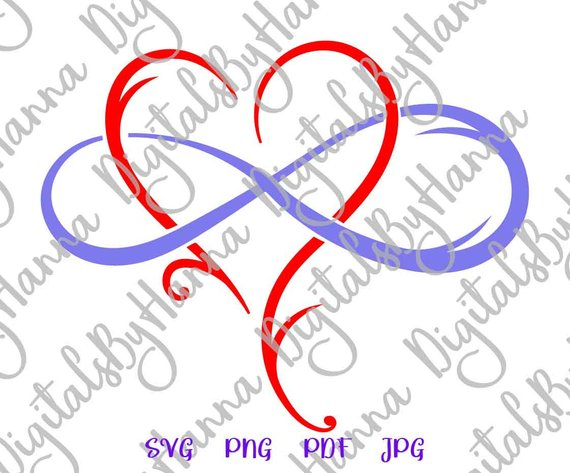 Mother and Daughter Symbol Heart Sign Emblem