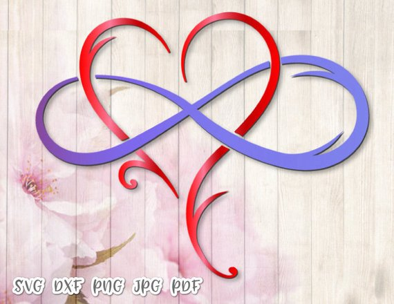 Mother And Daughter Is Forever Svg Files For Cricut Symbol Heart