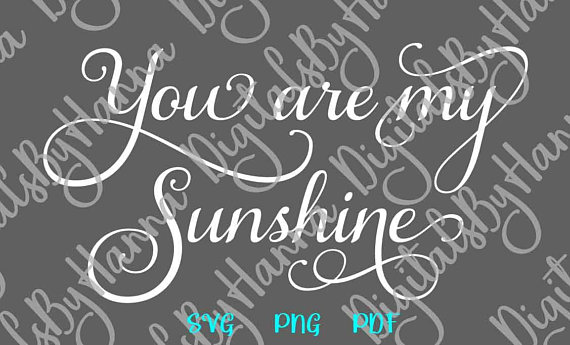 My Sunshine Scrapbook Ideas Files for Laser Shirt