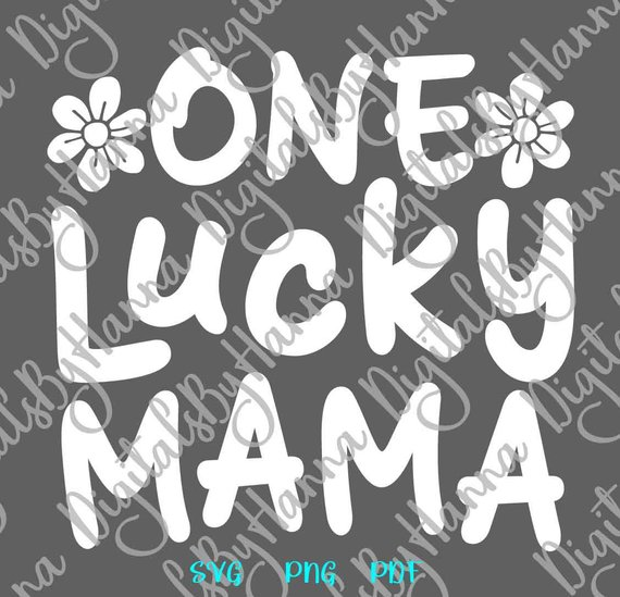 One Lucky Mama Scrapbook Ideas Files for Laser