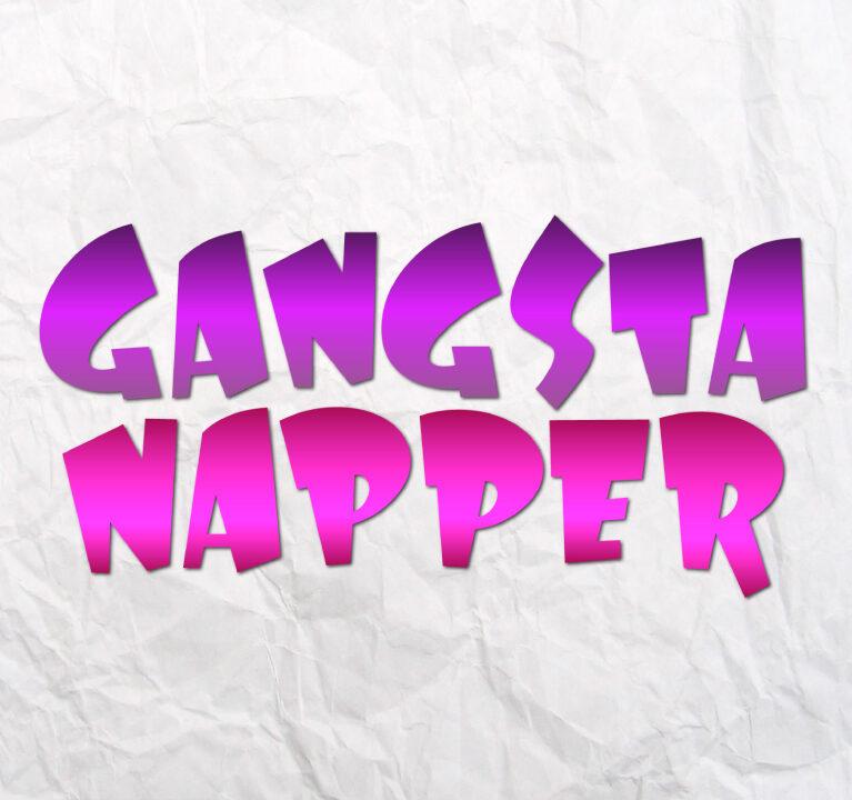 Gangsta Napper Svg Baby Boy Onesie Svg Nap Mat Word Sign Shirt Vector Clipart Svg Files For Cricut