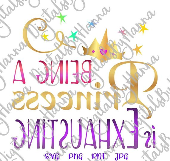 Princess Instant Download Die Cut Iron on Vinyl Card Making