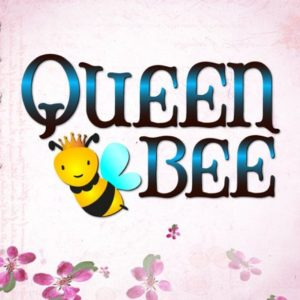 Queen Bee Vector Clipart SVG File for Cricut