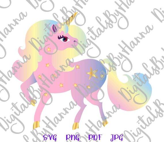 Rainbow Unicorn Cutter Visual Arts Stencil Maker Papercraft