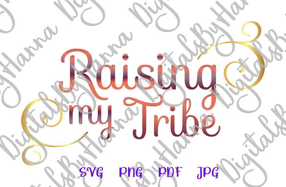 Raising My Tribe DIY Momlife Die Cut Iron on Vinyl Card Making