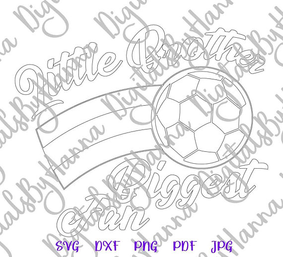 Soccer Brother Cuttable Shirt Decal Heat HTV Cutting