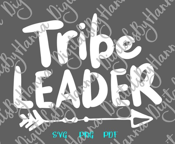 Tribe Leader Scrapbook Ideas Files for Laser Shirt Applique