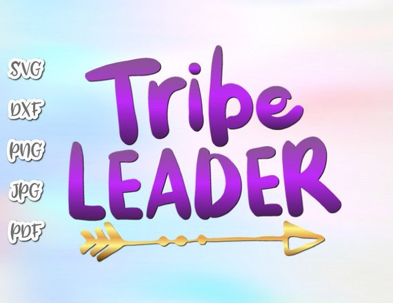 Tribe Leader Vector Clipart SVG File for Cricut