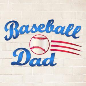 Baseball Dad Print and Cut File