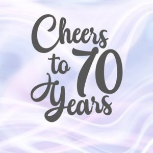 Cheer to 70 Year SVG Card Gift Decoration Poster 70th Birthday Seventy Invitation