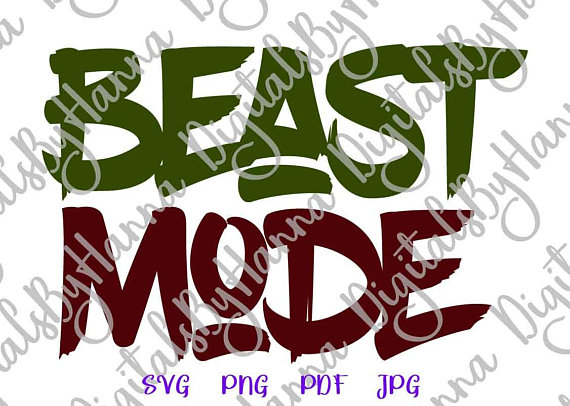 beast mode shirt sign workout svg files for cricut crossfit saying