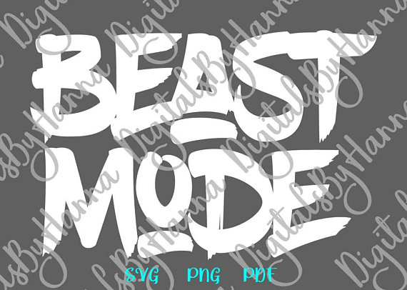 beast mode shirt sign workout svg files for cricut crossfit