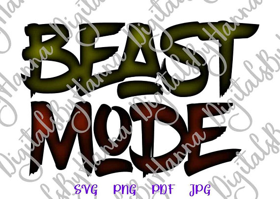 beast mode shirt svg run weight loss gym fitness