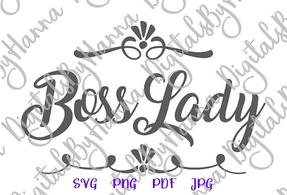 boss lady office svg files for cricut quote woman mug tee word sign coworker gift