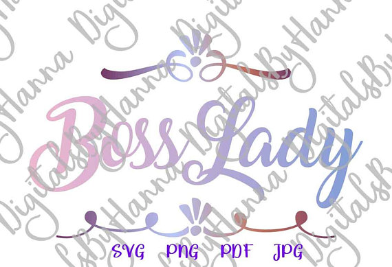 boss lady svg office svg files for cricut saying work quote woman mug print silhouette cut