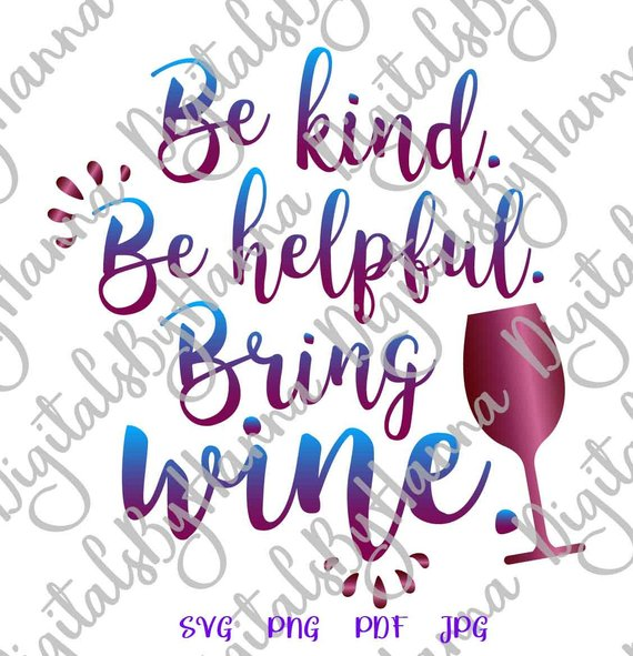bring wine svg funny quote drinking tee sign alcohol lettering word print silhouette cut