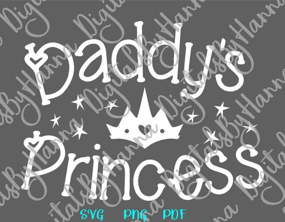 daddy s princess has arrived svg new baby take coming home outfit print