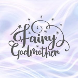 Fairy Godmother SVG Files for Cricut Shirt Word Print Silhouette Cut Magic Wand