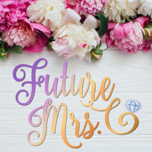 Future Mrs Bachelorette SVG Files for Cricut Bride Wedding Bridal Shower Cut