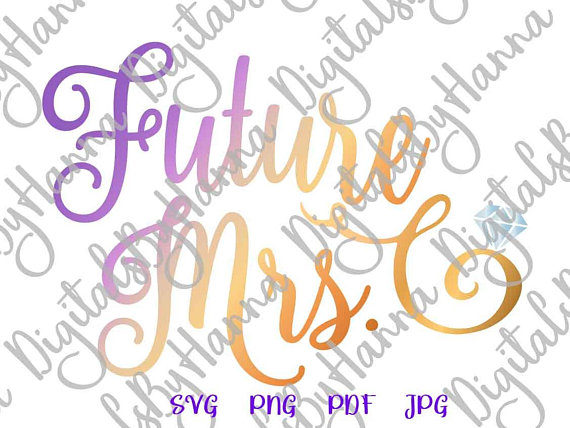 future mrs svg bride sign wedding bridal shower silhouette tee